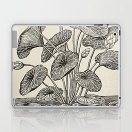 Water Lillies Laptop & iPad Skin