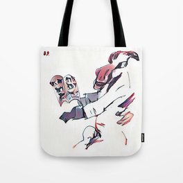 Los Caprichos ~ 39 ~ And So Sas His Grandfather Tote Bag