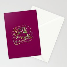 Floral Rap #2 Stationery Cards