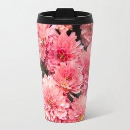 Autumn Kiss Chrysanthemums #1 #floral #art #Society6 Travel Mug