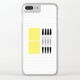 UX Design Toolkit Clear iPhone Case