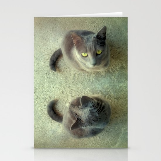 Double Love Stationery Cards