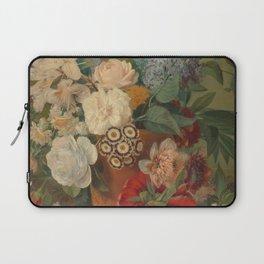 Flowers in a Terra Cotta Vase by Albertus Jonas Brandt Laptop Sleeve