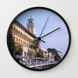 Vintage Color Photo * 1950's * Gardone * Little Riviera * Italy * Kodachrome Wall Clock