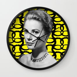 New Age - Digital Collage piece Wall Clock