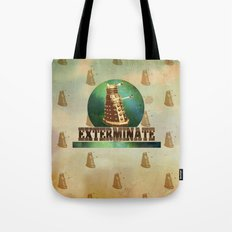 Doctor Who: Dalek Print Tote Bag