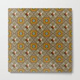 Odo Pattern Metal Print