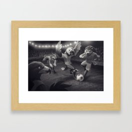 The Best of the Beasts - Football/Soccer Print Framed Art Print