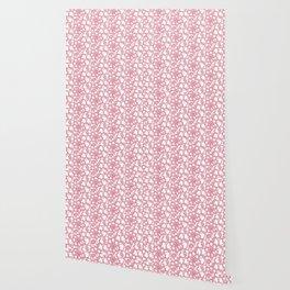 Candy cane flower pattern 4 Wallpaper