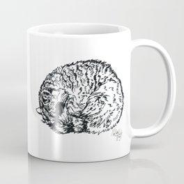 Sleeping Raccoon Coffee Mug