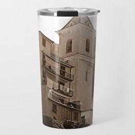 High Noon Riomaggiori Sepia Travel Mug