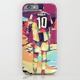 Paulo Dybala on WPAP Pop Art iPhone Case