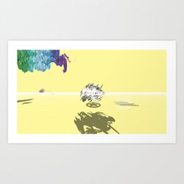 Russia Absolute Art Print