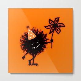 Evil Bug Halloween Party Metal Print