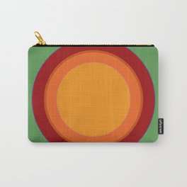 That 70s Sun spot - Soothing Green Carry-All Pouch