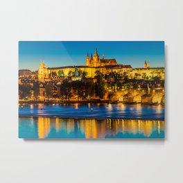 PRAGUE 002A Metal Print