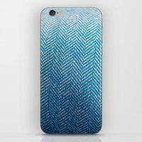 fabric iPhone & iPod Skins featuring Fabric by Anna Berthier