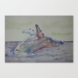 Humpback Whale 2 Canvas Print