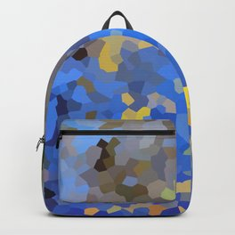 Gold dust on a mountain pond Backpack
