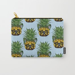Pineapple French Bulldog Carry-All Pouch