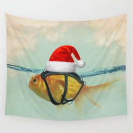 A Brilliant Disguise Christmas Wall Tapestry