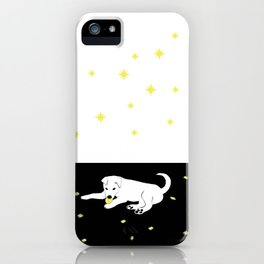 Sharkie with stars iPhone Case