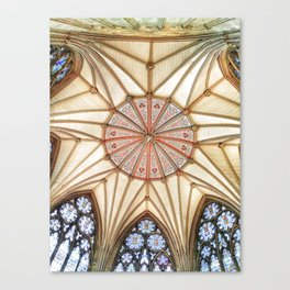 Chapter House at York Minster Canvas Print