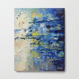 High Water by Nadia J Art Metal Print