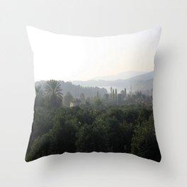 Atakoy Landscape Throw Pillow