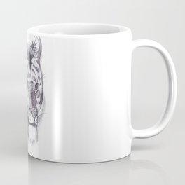 Tiger pencil rough sketch Coffee Mug