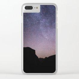 Yosemite Night Sky Clear iPhone Case
