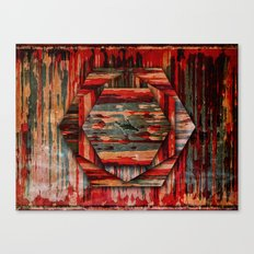 HEXAWOOD Canvas Print