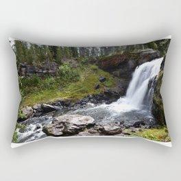 Moose Falls, Yellowstone Rectangular Pillow