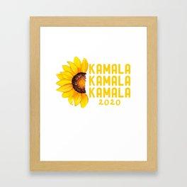 Kamala Harris for President 2020 T Shirt Campaign Election Lover Gift Framed Art Print