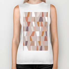 Neutral Geometric 03 Biker Tank