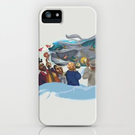 Jazz band iPhone Case