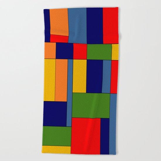 Abstract #348 Beach Towel