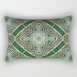Victorian Art Deco Medieval Pattern SB40 Rectangular Pillow