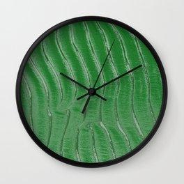 Green velvet Wall Clock