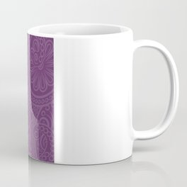 Purple Ganesha - Hindu Elephant Deity Coffee Mug