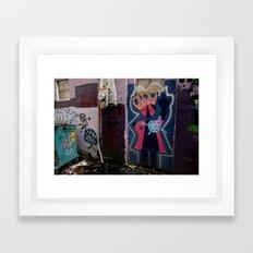 Queen B Framed Art Print