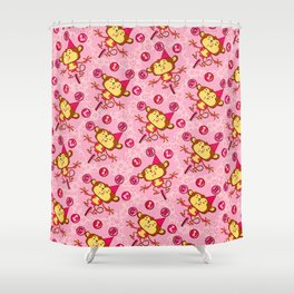 iT'S A GIRL Shower Curtain