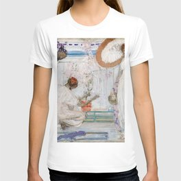 James McNeill Whistler - The White Symphony, Three Girls - Digital Remastered Edition T-shirt