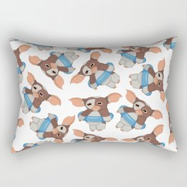 Gizmo wants to swim Rectangular Pillow