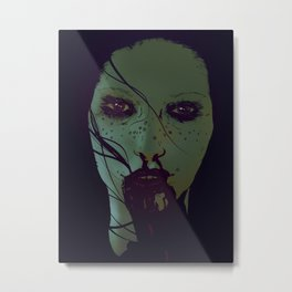 Freckled & Feral. Metal Print