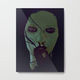 Freckled & Feral. Metal Print