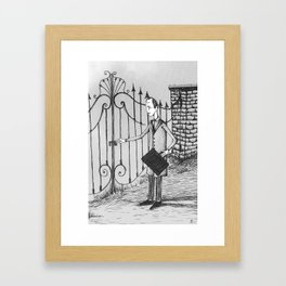 The Confession of Jacob Molar Framed Art Print