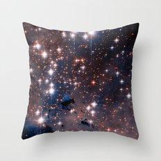 Stellar Eagle Nebula Throw Pillow