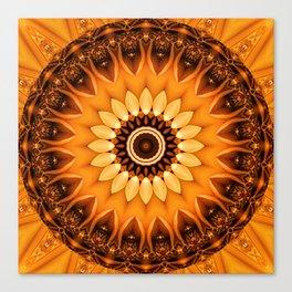 Mandala egypt sun no. 2 Canvas Print