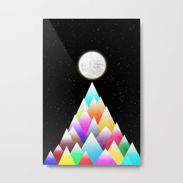 Stars Night Metal Print